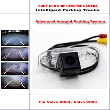 860 Pixels Car Rear Back Up Camera For Volvo XC60 / Volvo XC90 Rearview Parking / 580 TV Lines Dynamic Guidance Tragectory