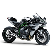 Maisto 1:18 KAWASAKI NINJA H2 R black Die-casts model bike Collection