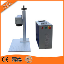 Hot selling cheap portable mini fiber laser marking machine for animal ear tags,plastic ,auto parts(China)