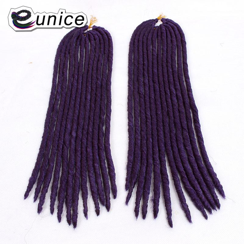 Crochet Braids Dreadlock Extensions Kanekalon Synthetic braiding hair For Women  (11)