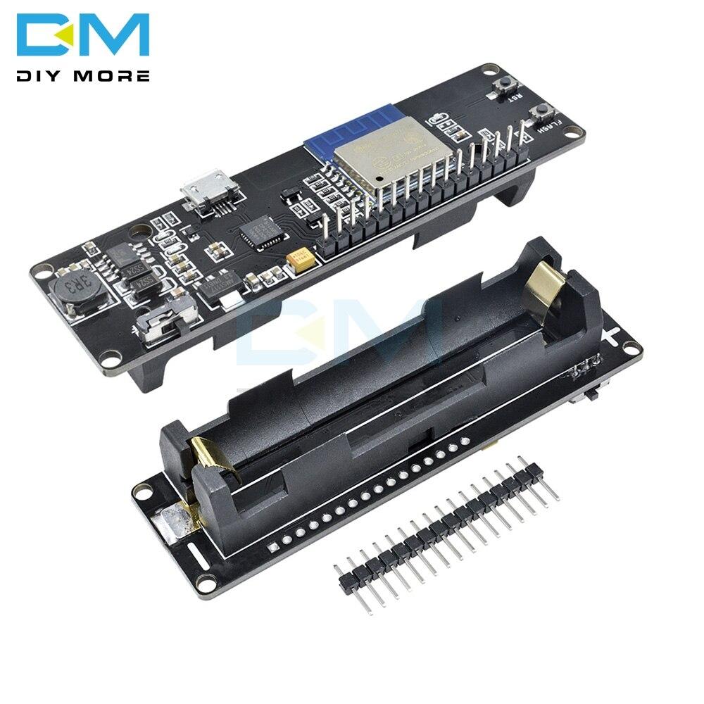 Mini-WiFi WeMos D1 Esp-Wroom-02 Motherboard ESP8266 Nodemcu Module 18650 Battery
