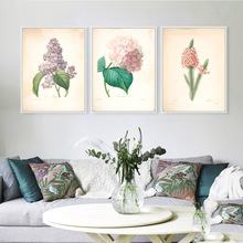 Modern American Rural Minimalist Flower Leaf Floral Art Print Poster Wall Picture Canvas Painting Living Room BedRoom Home Decor(China)