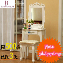 Single drawer dresser , dressing table bedroom vanity table