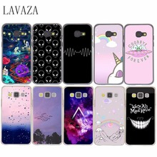 563E Hard Case for Samsung Galaxy A3 A5 A7 A8 J5 J7 Grand 2 j3 j5  Prime Note 2 3 4 5 2017 2016 2015 And Planets Space alien