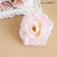 Fashion Vintage Large Pink Flower Brooch Pins for Women Good Wedding Party Dresses Brooches Hair Clip Brooch 2015 Brand BR-14