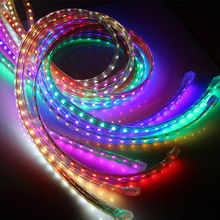 LED strip Light Waterproof SMD 5050 AC 220V 1M 5M 10M 15M 25M led stripe 5050 With EU Power Plug bar rope lights led Ribbon lamp