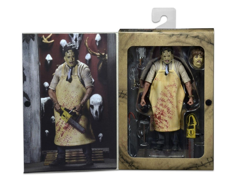 New NECA  40th Anniversary Ultimate Leatherface Classic Terror Movie The Texas Chainsaw Massacre 7 Action Figure<br>
