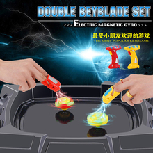 beyblade set arena spinning top beyblades metal fusion fight spins gyroscopes fidget spinner toys tri spinner toys for children