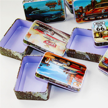 2017 New Personalized Small Tin Box Wonderful Mac Makeup Cosmetic 4 Piece/Lot Favorite Tea Box Cute Sundries For Small Things