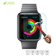 9H 2.5D Ultra Thin Tempered Glass Screen Protector Film for Apple Watch Iwatch 38MM 42MM Tempered Glass with Retail Package