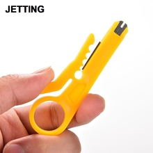 9cm Mini Strippers Network Cable Plier Yellow UTP STP Cable Cutter Telephone Wire Stripper
