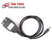 Wholesale Price KM Program TOOL via OBD2 For Fiat KM Tool Odometer Correction Tool with High Quality(China)