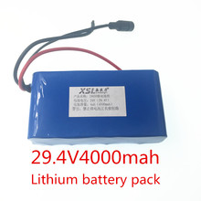 24 V 4ah 7s2p 18650 rechargeable Li ion battery 29.4 V 4000 MAH moped electric bicycle / electric / lithium ion battery battery