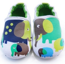 2016 Newborn baby shoes First Walkers baby boy girls shoes Elephant toddler Infant shoes cotton Baby footwear