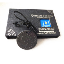 10pcs Retail Price Lava Quantum Energy Pendants Fashion OM Pendants Design With Card and Box Best Price Free Shipping
