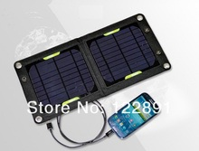 HOTSell 6W High Efficiency Outdoor Solar Panel Charger /Folding Solar Charging Bag Free Shipping(China)