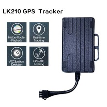 Motorcycle Vehicle Car GPS Tracker GPS GSM GPRS Anti-lost Monitor Real Time Tracking Device LK210 Gps Tracker bus truck(China)