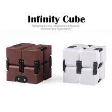 Buy 2017 Hot Sale Infinity Cube Fidget Cube Toy Anti-stress Desk Squeeze Cube Toys Focus Stress Relief Hand Magic Cube Gift for $4.63 in AliExpress store
