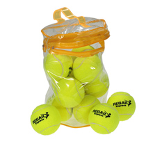 12PCS Tennis Training Ball Practice High Resilience Training Durable Tennis Ball Training Balls for Beginners Competition(China)