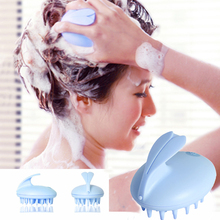 Electric Cute Rabbit Head Massager Magic Shampoo Massage Comb Bath Massage Brush Scalp Massager Head Hair Care Vibrating Brush