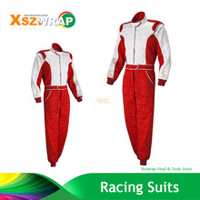 2017 New Arrival Red Woman F1 Jacket Karting Suit Car Motorcycle Racing Club Exercise Clothing Overalls Suit Two Layer