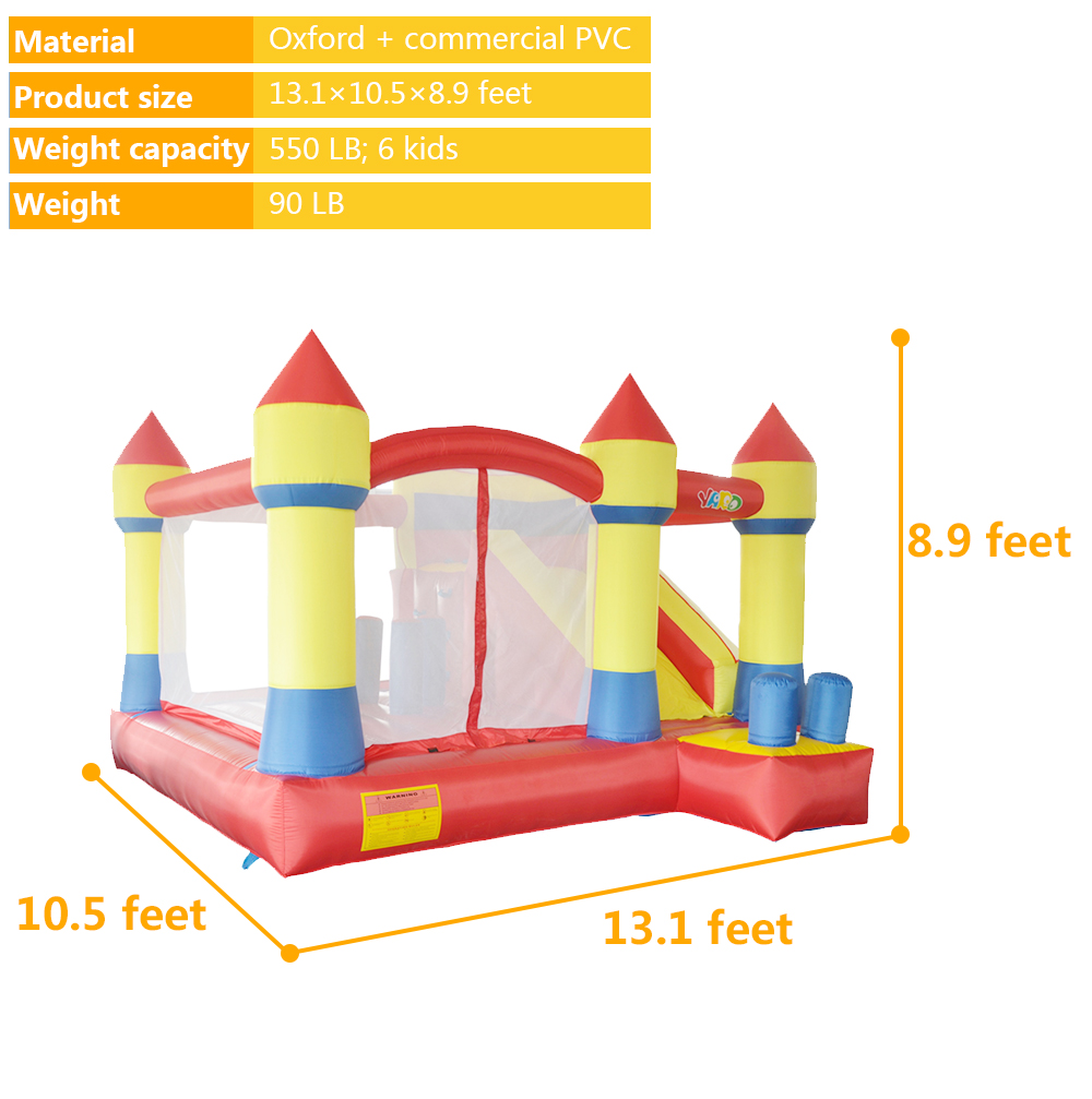 6037 inflatable bouncer house bouncy castle (3)