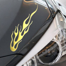 Buy 2017 Car Truck Decal Vinyl Graphics Side 3D sticker Flame Body Decal Vehicles Car Styling Wrap Accessories for $1.22 in AliExpress store