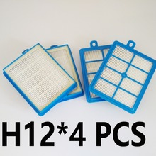4PCS/Pack Filter HEPA H13 S-FILTER  For ELECTROLUX  AEG  for PHILIPS 9001677682