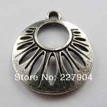 142pcs tibet silver nice Charms 22.5x19mm