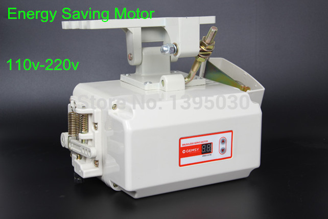 1PC GEM400 110V/220V Energy Saving Brushless Servo Motor for Sewing Machine With English Manual<br><br>Aliexpress
