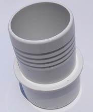 "Plastics Pool & Spa 1.5"" PVC Pipe Extender Fitting,one side with screw ,stright bush spa hose fitting(China)"