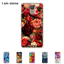 "Solf TPU Silicone Case For BQ Aquaris U Plus 5.0""Mobile Phone Cover Bag Cellphone Housing Shell Skin Mask Color Paint diy case(China)"