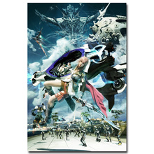Lightning - Final Fantasy XV Art Silk Fabric Poster Print 13x20 24x36 inch Hot Game Pictures for Living Room Wall Decor 012