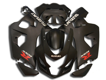 Motorcycle Fairing Kit for SUZUKI GSXR 600 750 K4 04 05 GSXR600 GSXR750 2004 2005 ABS Matte black Fairings set+7gifts SA20