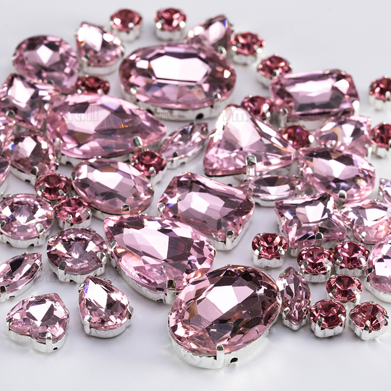 Glass Rhinestones For Clothes (4)