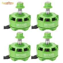 Racerstar 2306 BR2306S Green Edition 2400KV 2-4S Brushless Motor For X210 X220 250 300 Racing Frame RC Racing Drone Quadcopter