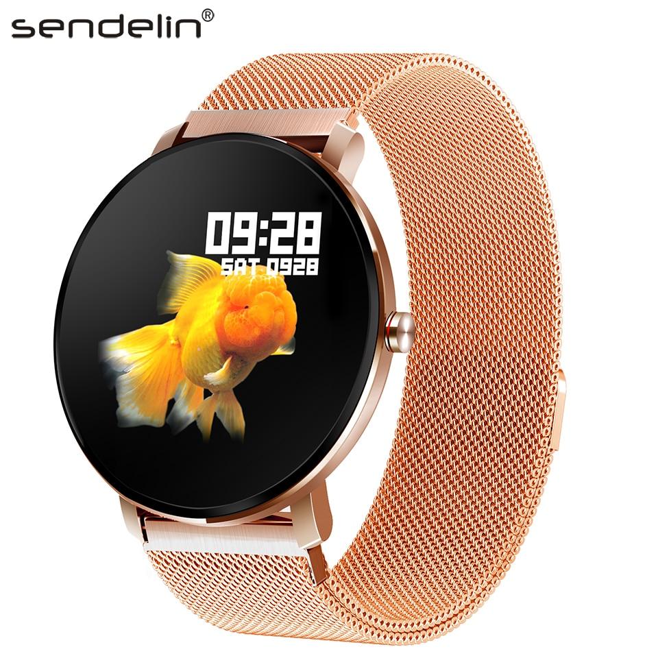 Smart Watch IPS color screen fitness tracker blood oxygen blood pressure measurement pedometer sports band smart bracelet