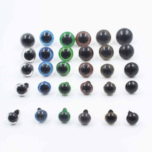 10pcs/set 10mm Mix Color Plastic Safety Eyes For Teddy Bear Doll Animal Puppet Craft DIY Doll Accessories