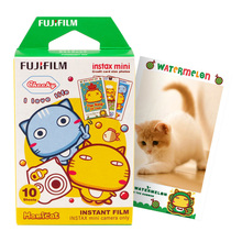 100% Original Fuji Fujifilm Instax Mini 8 Film Hamicat Photo Paper 10pcs For Polaroid 8 50s 7s 90 25 Share SP-1 Instant Camera