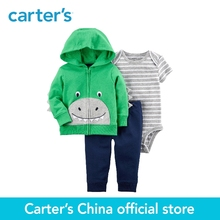 Buy Carter's 3-Piece baby children kids clothing Boy Spring & Fall Cotton Sweet Dinosaur Face Little Jacket Set 121I378 for $20.40 in AliExpress store