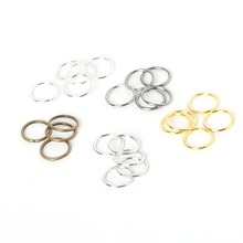 0.5*3mm 500pcs/bag wholesale gunmetal/Silver/Rhodium Tone Jump Rings jewelry Findings Split Ring for DIY fashion chains making