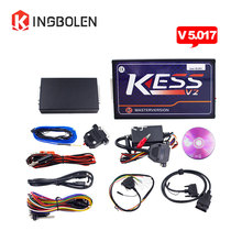 Latest KESS FW V5.017 V2.23 No Token Limited support Car/truck/Tractor/Bike ECU programming tool Kess V2 ECU With reset button
