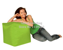 COVER ONLY NO FILLER - bean bag ottoman pouf ottoman square ottoman, waterproof sofa chairs