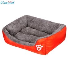 Top Grand Puppy Dog Cat Kitten Pet Bed Pad Cushion Basket Sofa Couch Mat Products For Animals Dog Bed Dropship(China)