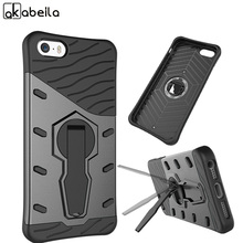 AKABEILA Cell Phone Cases For Apple iPhone SE iPhone 5SE iphone55s iPhone 5 5S 5G 55S Cover Silicon PC Armor Bag Shell Hood Case(China)
