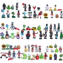 9styles Plants vs Zombies PVZ Toy Plants Zombies PVC Action Figures Toy Doll Set for Collection Party Decoration