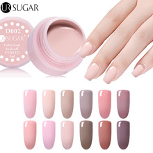 UR SUGAR Nude Color UV Gel Polish Paint UV led Nail Gel Lacquer Soak Off LED Long Lasting Pure Colors Design Nail Gel Varnish