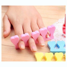 10Pcs Soft Sponge Foam Finger Toe Separator Nail Art Salon Pedicure Manicure Tool Feet Care Foam Toe Separator For Nail Art DIY