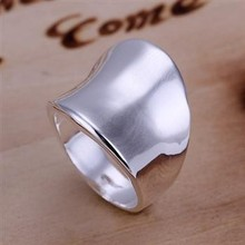 Wholesale Quality Men's Thumb Style 925 Silver Ring, Fashion 925 Silver Jewelry, Only Size 8, Factory Price! (R052)
