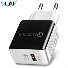 Buy 5V 3A QC3.0 Travel Wall Charger Quick Charge 3.0 USB Fast Charger Adapter EU Plug Universal Mobile Phone Charger Iphone 7 6 for $4.99 in AliExpress store